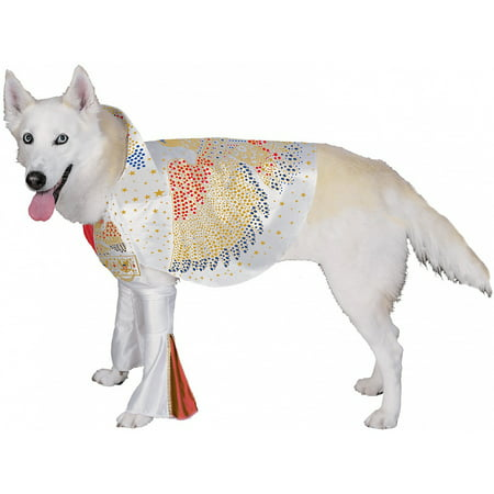 Best Halloween Costumes For Large Dogs (Elvis Pet Pet Costume - Large)