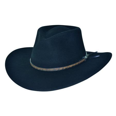 New Bullhide Killer Hats Easy Goin Outback Wool Hat - Australian Outback Hat