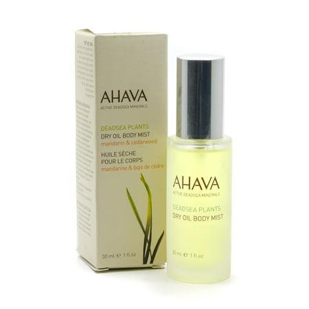 Ahava Deadsea Plants Dry Oil Body Mist, 1 Oz