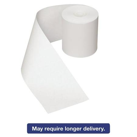 Royal Paper Register Roll, 3 in x 150 ft, White Bond, 1 Ply, 30/Carton