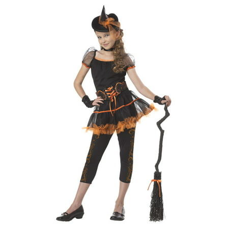 Stardust Witch Child Costume (Orange)