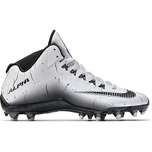 Nike Mens Alpha Pro 2 Football Cleat Alpha Pro 2 3//4 D