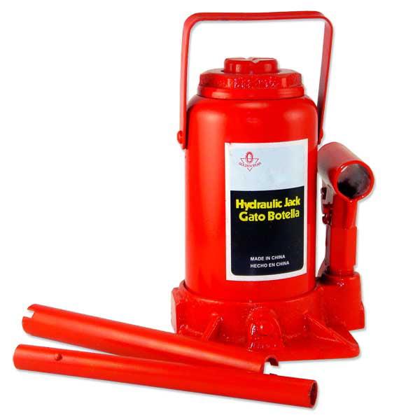 20 Ton Low Profile Bottle Jack Hydraulic Shop Lift Tool