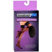 Loving Comfort Thigh High Stockings Moderate Black Medium 1 Pair (Pack of 2)