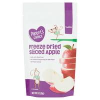 Parent's Choice Freeze Dried Sliced Apple, Toddler, 1 oz