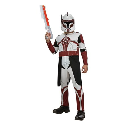 Star Wars Clone Wars Clone Trooper Child's Commander Fox Costume, Large, Star Wars Clone Wars Clone Trooper Child's Commander Fox Costume,.., By Rubie's