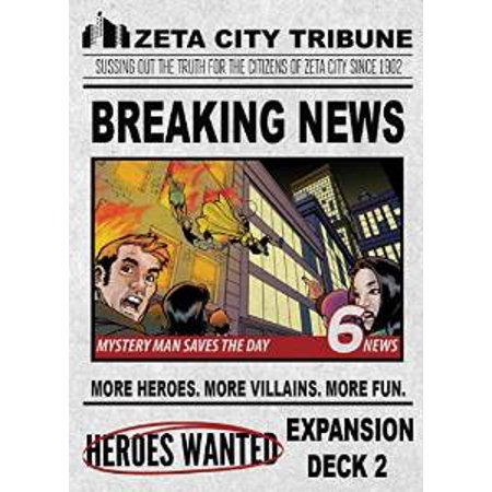 Image of Heroes Wanted: Breaking News Expansion