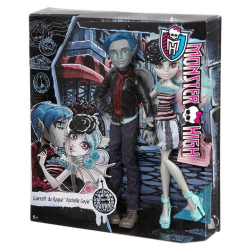 Monster High Love in Scaris [Garrott du Roque and Rochelle Goyle] by