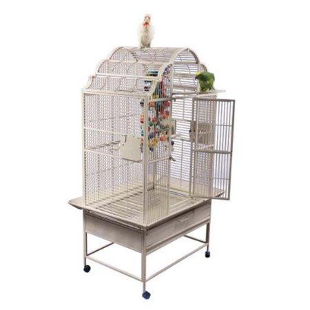 Medium Victorian Top Bird Cage Color: Black