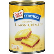 (3 Pack) Duncan Hines Comstock Original Lemon Crme Pie Filling & Topping, 21 oz