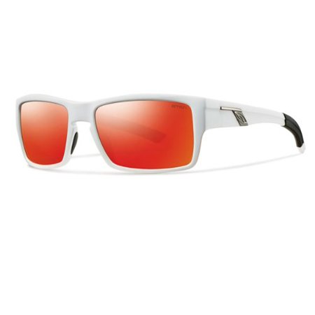2eb974938c4f SMITH - Sunglasses Smith Outlier S 0VK6 White   AO red sol-x lens -  Walmart.com
