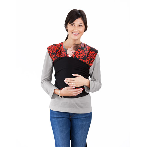 Infantino Sync Comfort Wrap Baby Carrier Floral Burst Walmart Com