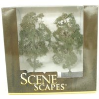 "Bachmann SceneScapes 8"" MAPLE TREES Pkg. of 2"