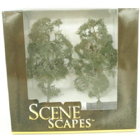 "Bachmann 32211 O Scale 8"" MAPLE TREES (2 per box)"