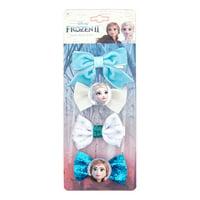 Disney Frozen 2 Elsa & Anna Hair Clips, 4 pack