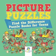 Picture Puzzles Find the Difference Puzzle Books for Teens (Paperback)