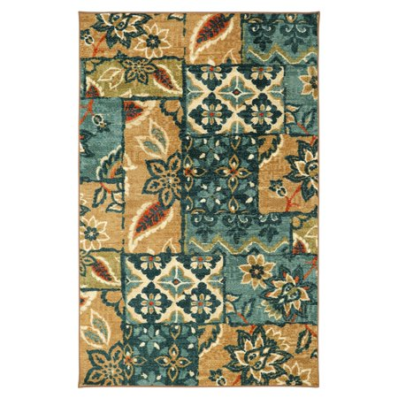 Mohawk Home Strata Gypsy Patchwork Multicolored Area Rug