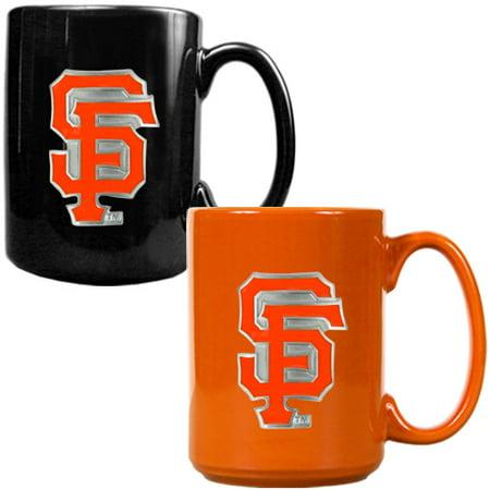 San Francisco Giants 15oz. Coffee Mug Set - No (Best Coffee Roasters In San Francisco)