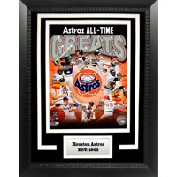 "MLB Houston Astros Greats 11"" x 14"" Deluxe Frame"