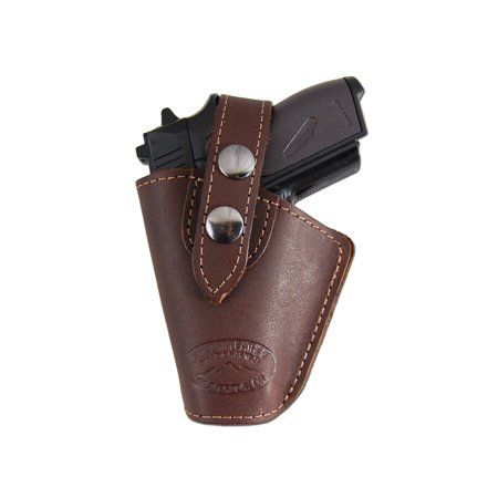 Barsony Left Brown Leather OWB Holster Size 10 Baby Browning Seecamp Colt 25 Mini 22 25