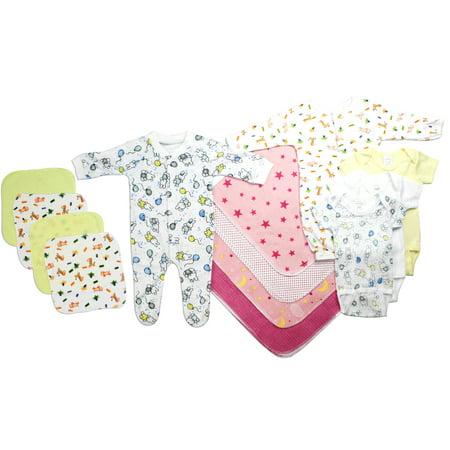 Bambini Newborn Baby Shower Layette Gift Set, 13pc (Baby Girls) - Idee Costumi Halloween Bambini