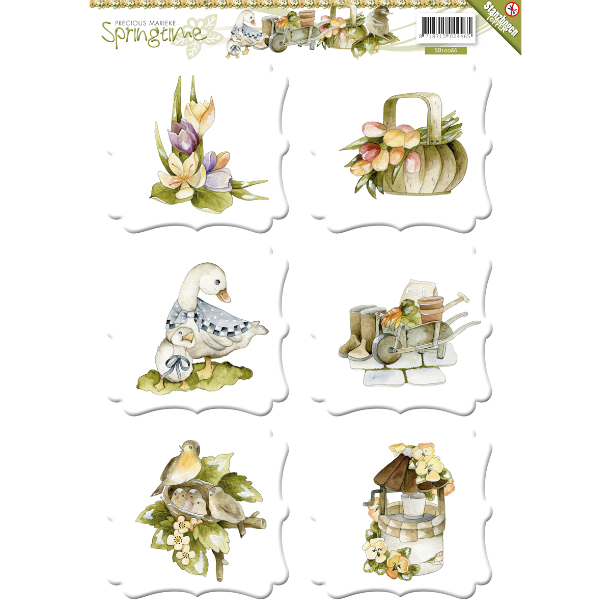 Find It Precious Marieke Springtime Topper Sheet-
