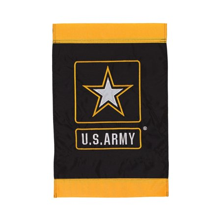 Army Garden Flag - United States Army 12 x 18 inch Garden Flag Embroidered US Military Outdoor