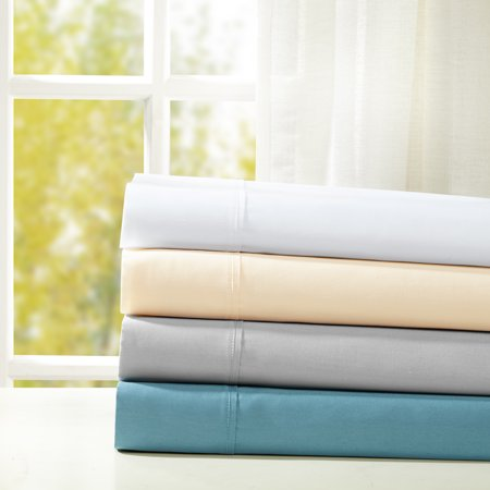 Image of Comfort Classics Snug Grip 300 Thread Count Cotton Sateen Sheet Set