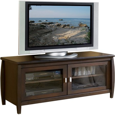 TechCraft Walnut TV Stand, for TVs up to 52″