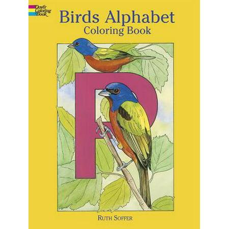Birds Alphabet : Coloring Book