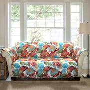 Layla Furniture Protector, Orange/Blue