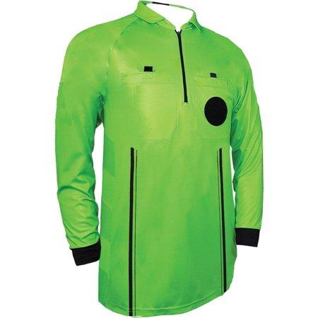 1 Stop Soccer Pro Referee Soccer Jersey Long Sleeves Free Referee Shorts