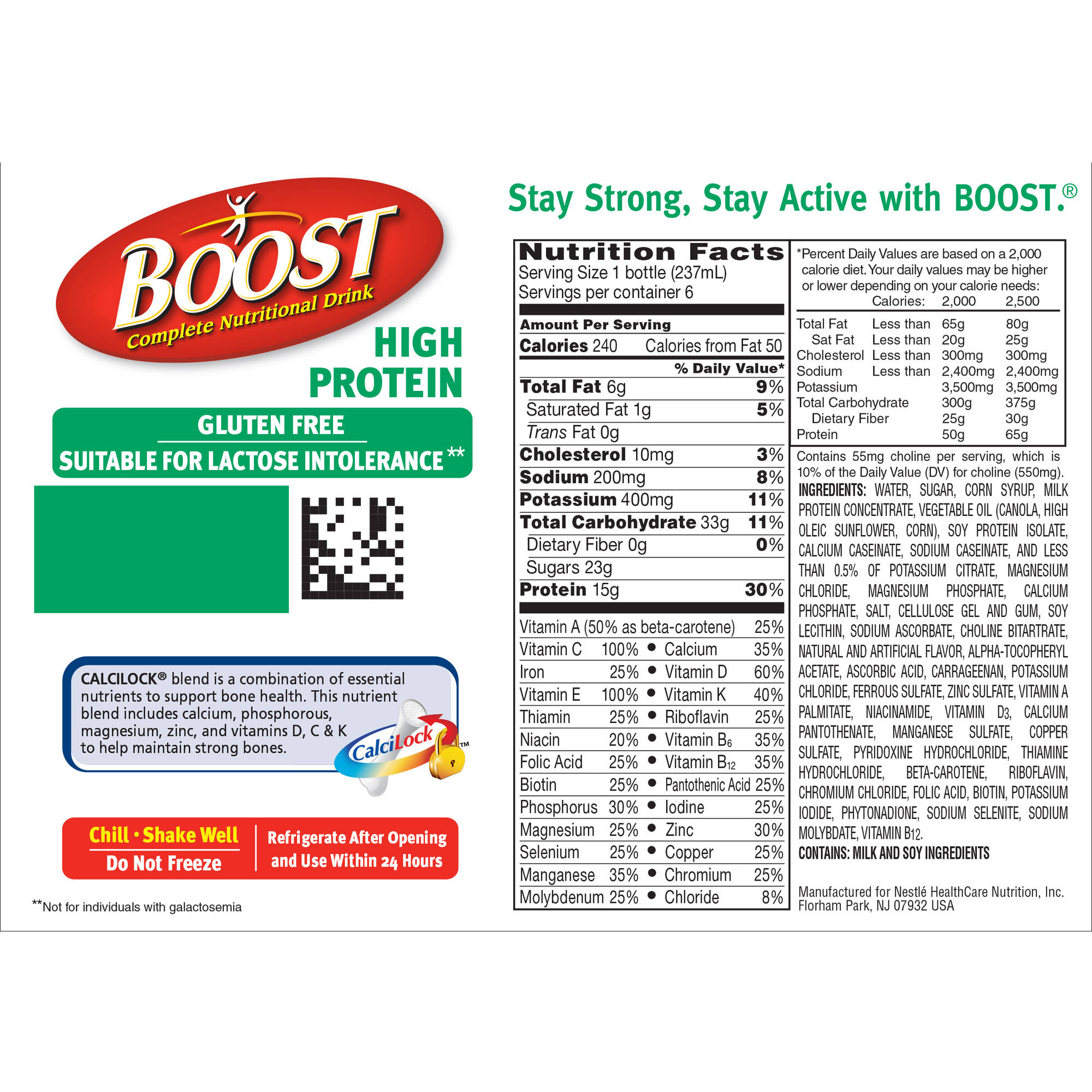 Boost nutritional drink coupons canada