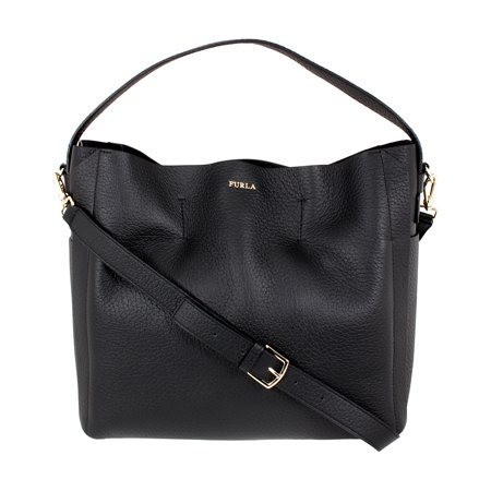 Furla Capriccio Ladies Medium Calfskin Leather Hobo Handbag -