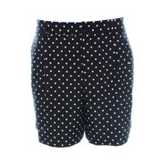 Lauren Ralph Lauren NEW Black Women's 4 Polka Dot Bermuda Walking Shorts $79