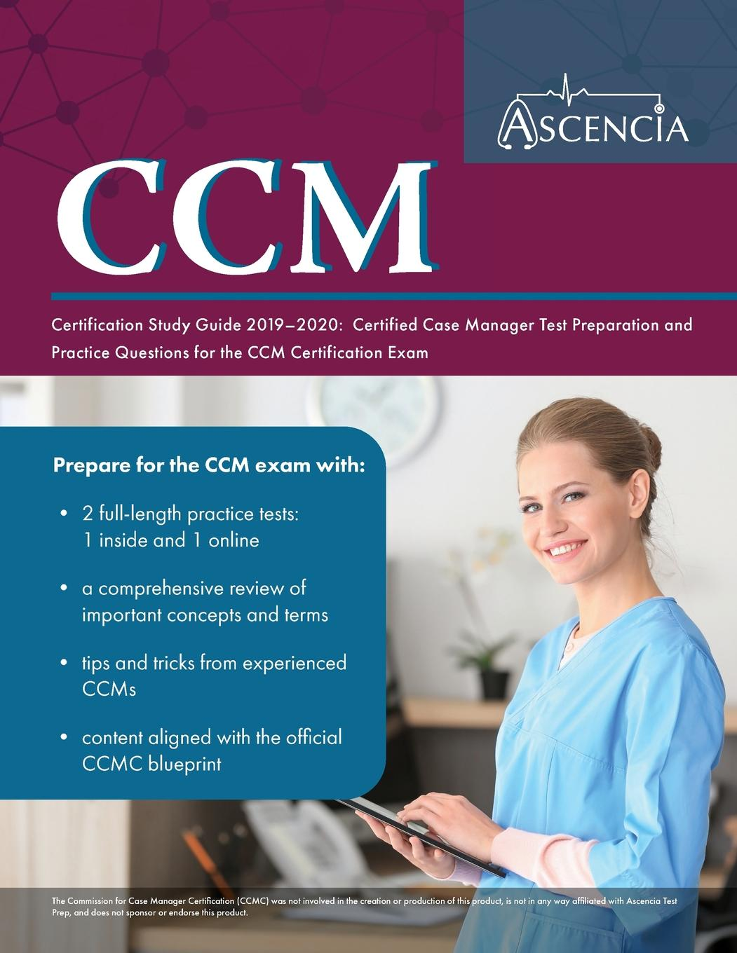 ccm certification study guide case certified manager test preparation practice paperback exam