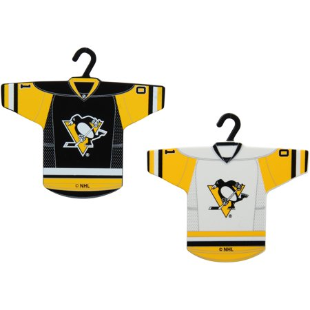 - Pittsburgh Penguins Two-Pack Jersey Ornament - No Size