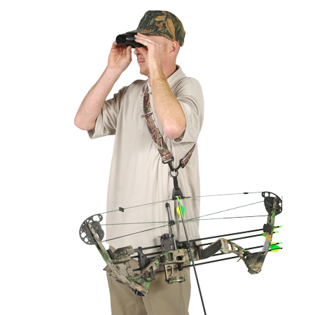 - Buck Baits Bow Stay Bow Holder And Carrier (Black)