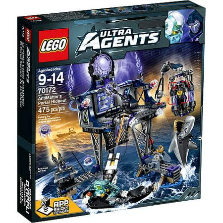 LEGO Agents AntiMatter's Portal Hideout Exclusive Set #70172 (Lego Agents Sets)