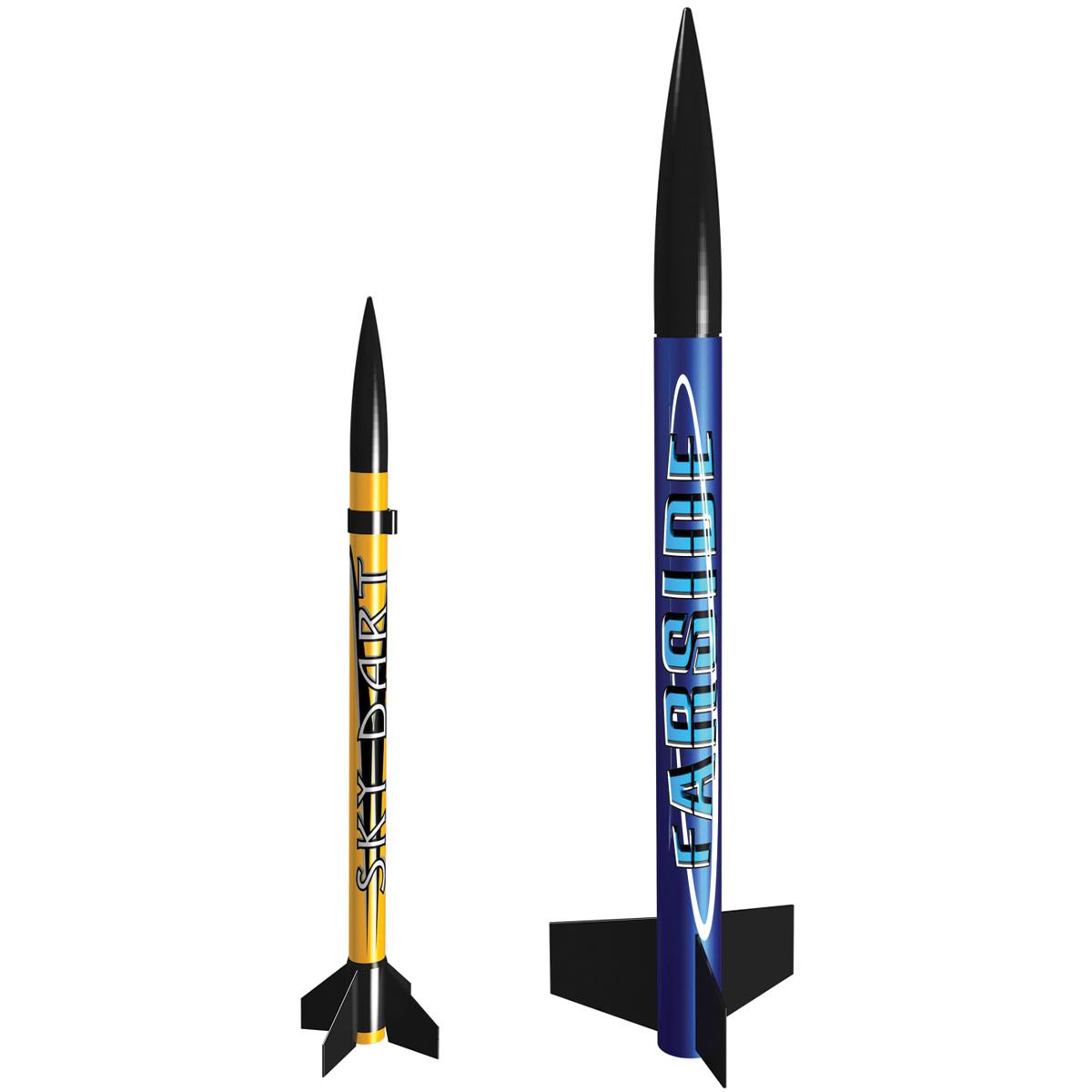 Estes Model Rocket Launch Set, Solar Scouts by Estes-Cox Corp