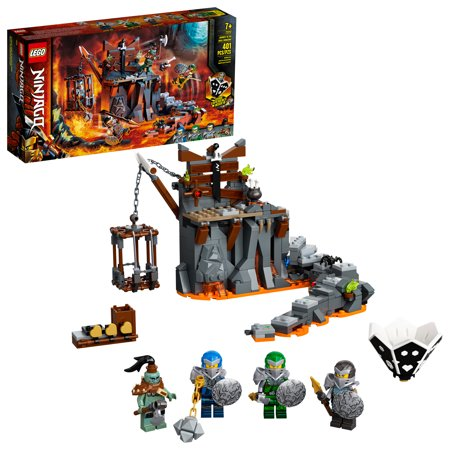 LEGO NINJAGO Journey to the Skull Dungeons 71717 Ninja Building Toy for Kids (401 Pieces)