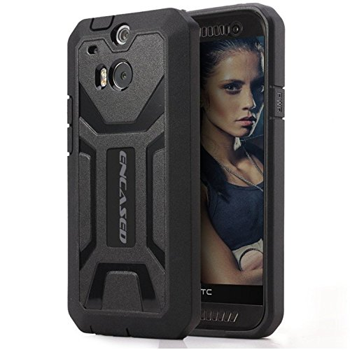 HTC ONE M8 Tough Case, [Outdoor Series] with Built-in Screen Protector