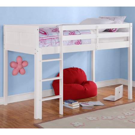 Sofia Junior Twin Loft Bed White Walmart Com