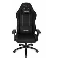 AKRacing Core Series EX Fabric Gaming Chair with High/ Wide Backrest Black