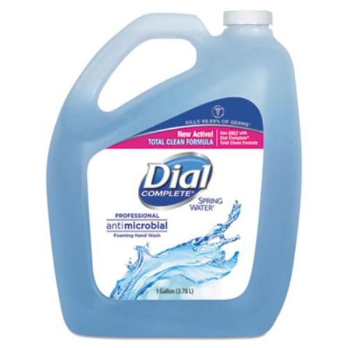 Antimicrobial Foaming Hand Wash, Spring Water, 1 gal Bottle