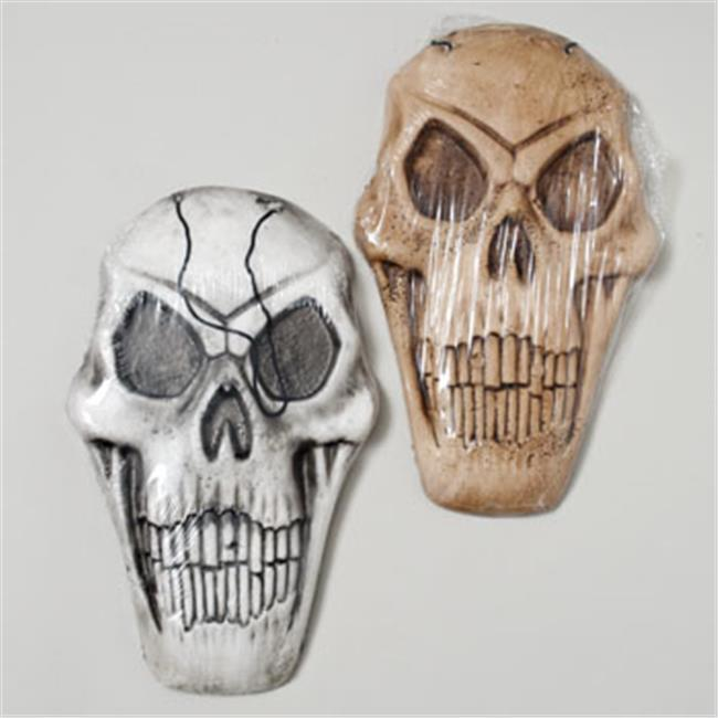 RGP G89994 Skull Foam Scary Decor, Pack Of 36