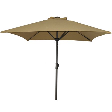 Mainstays Square Patio Umbrella, Dune - Mainstays Square Patio Umbrella, Dune - Walmart.com