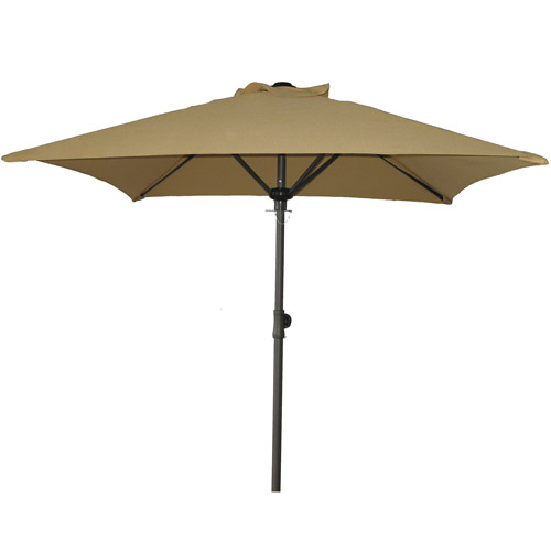 Perfect Mainstays Square Patio Umbrella, Dune