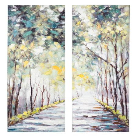 Signature Design by Ashley Donagh Mystical Forest Canvas Wall Art