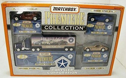 """PREMIERE COLLECTION LIMITED EDITION """"CHRYSLER CORPORATION"""" SET, By Matchbox From USA by"""